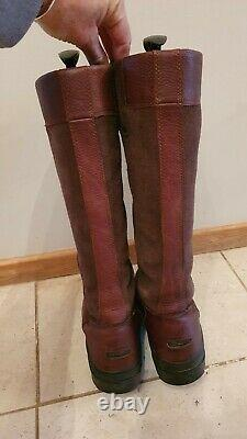 ARIAT WINDERMERE riding boots size 5.5 UK ladies Country yard brown leather