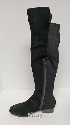 Aerosoles Cross Country Over-The-Knee Boots, Black, Women's 8 M