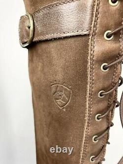 Ariat Coniston H2O Boots UK6.5 EU40 Brown Country Riding Leather (1018 SRB)