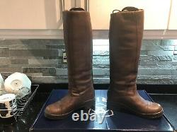 Ariat Glacier H20 Tall Insulated Riding/ Country Boots Size 4.5 / 5 Brown RARE