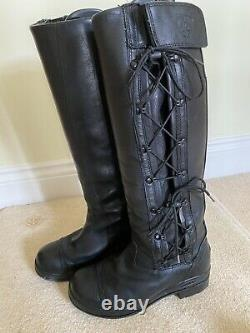 Ariat Glacier H20 Tall Insulating Riding/Country Boots UK 5.5 & Ariat Boot Trees