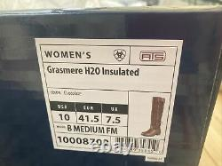Ariat Grasmere H20 Insulated Boots Chocolate UK 7.5 Full Fit See chart