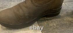 Ariat Langdale Long Brown Leather Country Yard Riding Boots Size 4 Regular