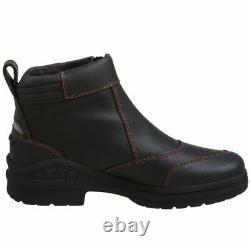 Ariat Women's Barnyard Side Zip Country Boot Dark Brown