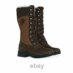 Ariat Wythburn H2o Insulated Womens Boots Country Java All Sizes