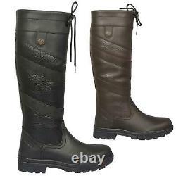 B&A Caitlan Country Boots Ladies Womens Waterproof Tall Long Riding Dog Walking