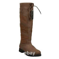B&A Gemma Boots Ladies Tall Country Walking Mucking Hacking Womens Long Riding