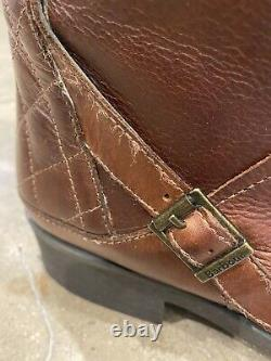 Barbour Leather Tan Country Boots EU41/7