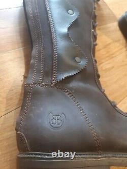 Bareback Andalucia Tall Lace Up Equestrian Country Riding Boot Brown Size 8 41