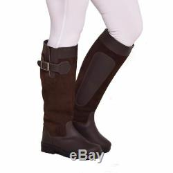 Bow & Arrow Parker Suede Outdoor Equestrian Walking Horse Riding Country Boots