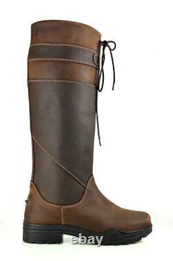 Brogini Ruscello Waterproof Long Country Riding Boots, Walking