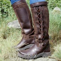 Brogini Winchester Country Boot. Riding or country wear. Standard or wide fit