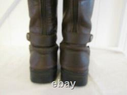 CHATHAM Waterproof Knee High Brown Leather Boots Riding Country uk 8 eu 41 vgc