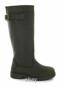 Cotswolds Leather York Country Waterproof Equestrian Riding Boots Unisex