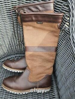 Crew Clothing Leather Country Riding Boots Ladies UK 5 EUR 38