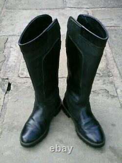 Dubarry Clare Black Goretex Lined Country Riding Boots Size UK 6 VGC