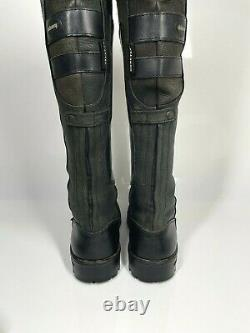 Dubarry Clare Country Boots UK4 EU37 Black Riding Classic Style (915 SRB)