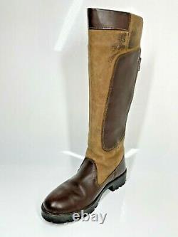 Dubarry Clare Country Boots UK4 EU37 Walnut Brown Riding Equestrian (1123 B11)