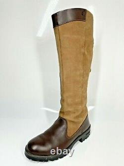 Dubarry Clare Country Boots UK4 EU37 Walnut Brown Riding Equestrian (1123 C1)