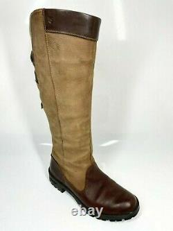 Dubarry Clare Country Boots UK6.5 EU40 Brown Riding Equestrian (1201 B24)