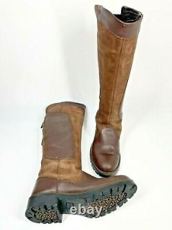 Dubarry Clare Country Leather Boots UK5 EU38 Walnut Brown Riding (1229 SRB)