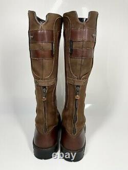 Dubarry Clare Country Riding Boots UK6.5 EU40 Walnut Brown (1138 B18)