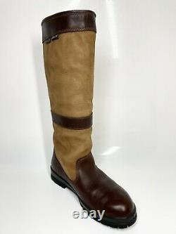 Dubarry Country Boots UK7 EU41 Brown Riding Leather (1147 SRB)