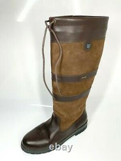Dubarry Galway Country Boots UK10 EU44 Walnut Brown Riding Outdoors (1250 A6)