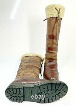 Dubarry Kilternan Woollen Country Boots UK7 EU41 Brown Riding (1142 A4)