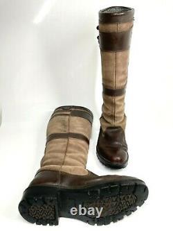 Dubarry Longford Country Boots UK5.5 EU39 Walnut Brown Riding (1020 B24)