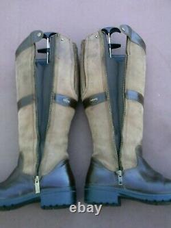 Dubarry Sligo Walnut Goretex Lined Country Riding Boots Size UK 6 EU 39 VGC