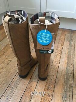 Dublin Cherwell Tall Leather Riding / Country Boots Size 6 Regular Calf