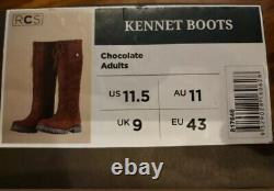 Dublin Kennet Leather Waterproof Breathable Riding / Country Boots Size 9 (43)