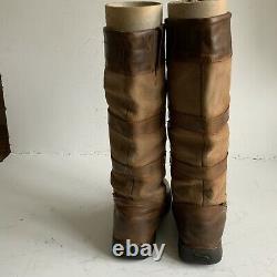Dublin Long River Boots Size 5 Riding Country Walking Yard Boots Brown / Tan