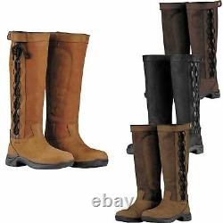 Dublin Pinnacle II Waterproof Ladies Horse Riding Walking Fashion Country Boots