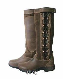 Dublin Pinnacle Ladies Waterproof Horse Riding Walking Leather Country Boots