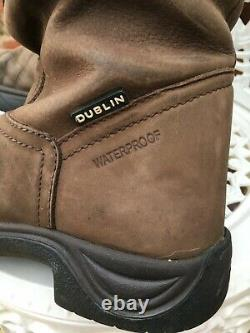 Dublin River Boots. Country-Yard-Riding Boots size 6 standard calf. Free p&p