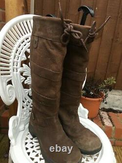 Dublin River Boots. Country-Yard-Riding Boots size 7 standard calf. Free p&p