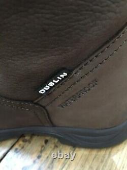 Dublin River Boots III Waterproof Riding / Country Walking Dark Brown Size 6