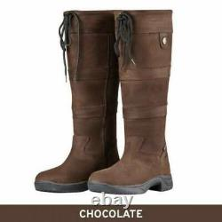 Dublin River Boots, Waterproof & Breathable Long Country Riding Boots