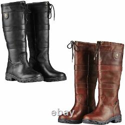 Dublin River Grain II Ladies Waterproof Horse Riding Breathable Country Boots