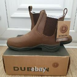 Dublin Venturer Rs iii Womens Country Jodhpur Boots Brown Size 6.5