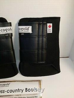 EcoGold Cross Country Front 12 Boots Equestrian Horse Riding
