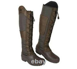 Elico Chalgrove Long Boots Yard Horse Riding Walking Country Size UK 6 EUR 39