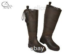 Elico Roundhay XXW Long Boots Winter Yard Riding Walking Country Casual FREE P&P