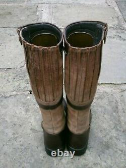 Fabulous Dubarry Sligo Brown Country Riding Boots Size UK 6 EU 39 VGC
