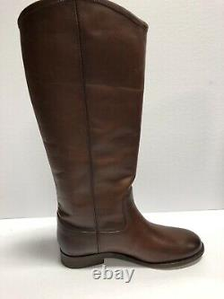 Frye Melissa Button 2 3475448-RDX Redwood Extended Size US7 M