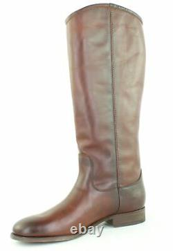 Frye Womens Melissa Button 2 Redwood Riding Boots Size 8.5 (1446895)