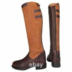 Horka Preston Waterproof Leather Shock Resistant Country Long Horse Riding Boot