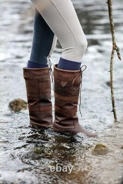 Horseware HW Horse Riding/Country Leather Boot Long WATERPROOF ALL SIZES & COLOU